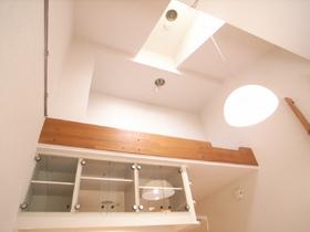 ロフトがあるので、天井かなり高いですよ!