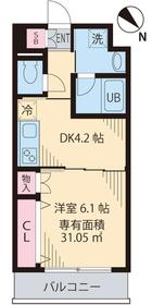メゾンドソレイユ�X 203号室