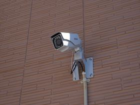 防犯カメラでセキュリティも安心です!