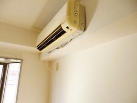 エアコン設備ついてます
