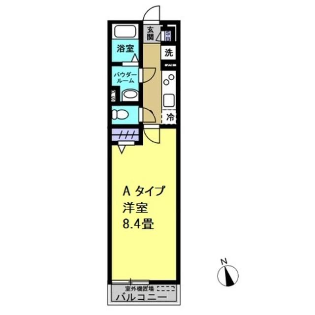 洋室8.4帖