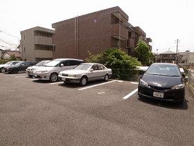 駐車場は平置きだからワゴン車もOK