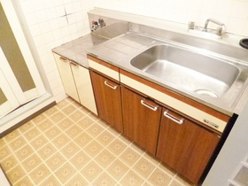 流し台が広めで洗い物が楽々です