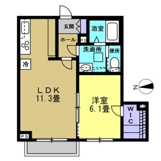 LDK11.3帖・洋室6.1帖