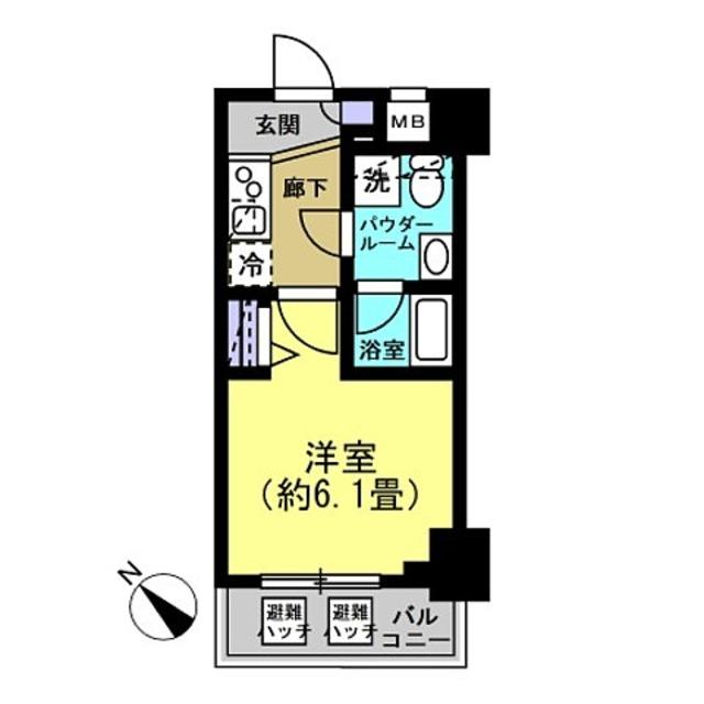 洋室6.1帖