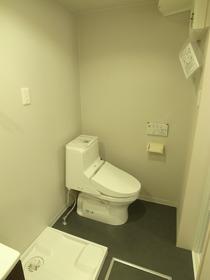 洗面所とトイレが一緒のタイプ