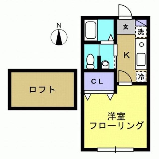 洋室6帖・K3帖