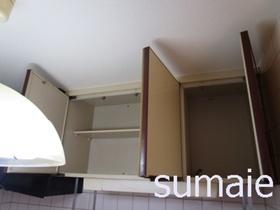 キッチンの収納棚☆