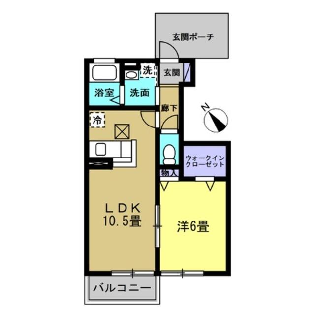 LDK10.5帖・洋室6帖