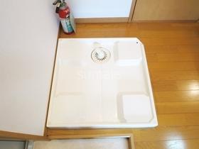 室内洗濯機置き場です!!