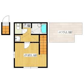 ロフト付きのアパートです☆