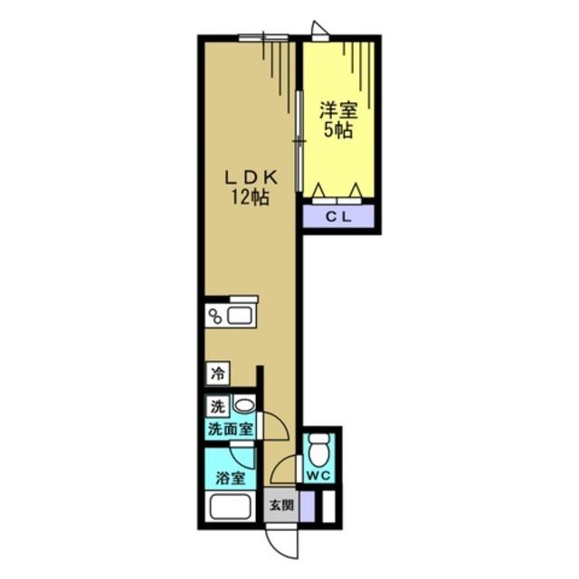 LDK12帖 洋室5帖