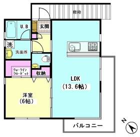 フルール松永 201号室