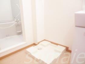 室内洗濯機置き場です♪