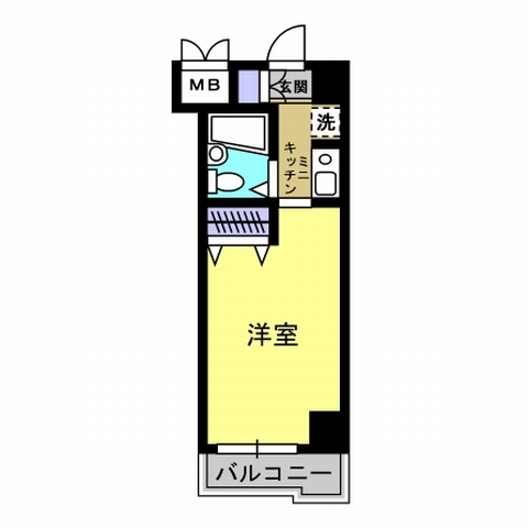 洋室6帖 K