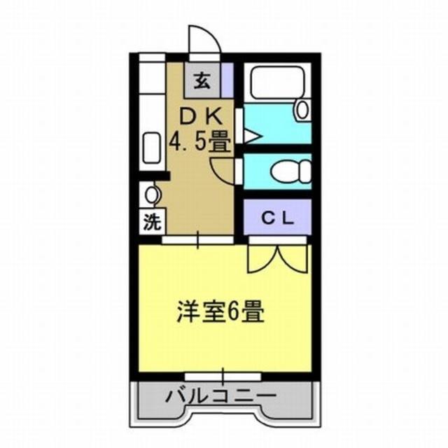 DK4.5、洋室6帖