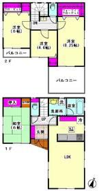 下丸子1丁目戸建 1号室