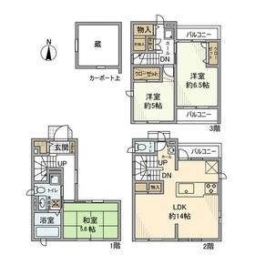萩中戸建 0号室