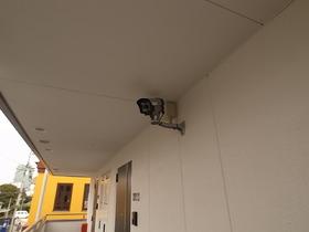 防犯カメラでしっかり監視!