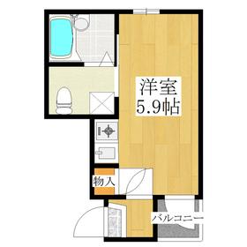 バス・トイレ別のワンルーム☆