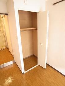 ゆとりある収納スペース☆