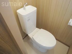 清潔感のあるトイレで落ち着きます♪