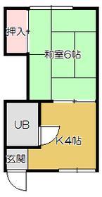 1DK 23.7平米 2.8万円 愛媛県宇和島市保手5丁目