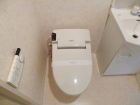 洗浄・暖房便座のトイレです