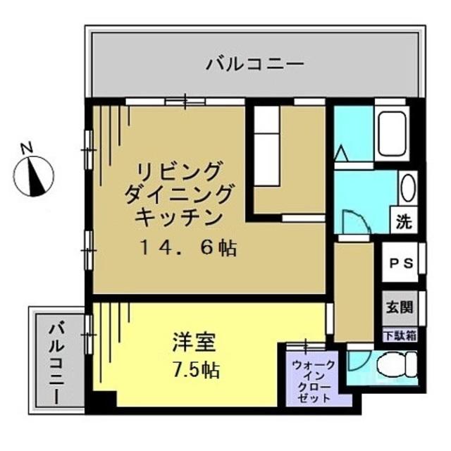 LDK14.63 洋室7.52帖