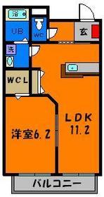 広々1LDKの間取り☆設備も充実でオススメです!