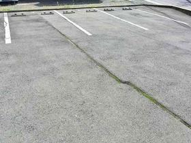 整備された駐車場