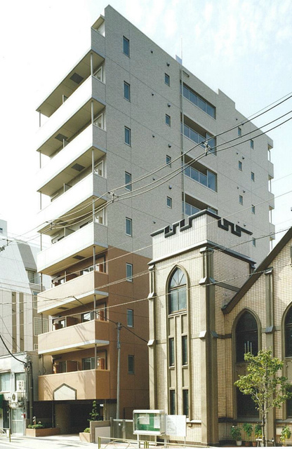 スカイコート東大前壱番館の外観画像