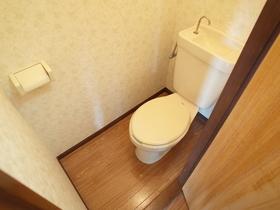キレイなトイレです