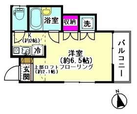 ベルドゥ下丸子 102号室