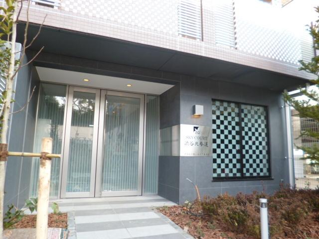 スカイコート渋谷北参道エントランス