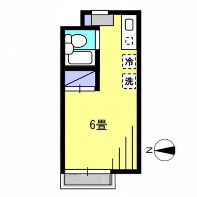 K2.5帖洋室6帖