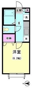 パピヨン南大井 210号室