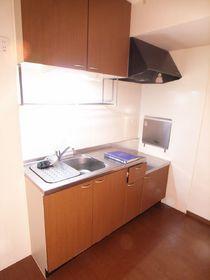 広めのキッチンは使いやすいですね。