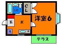 洋室の使いやすいお部屋☆