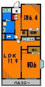 オール洋室の広々2LDKです☆