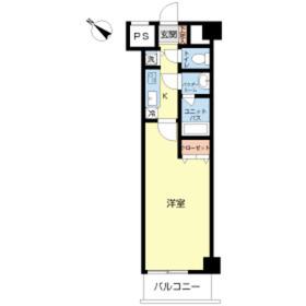 スカイコート板橋五番館2階Fの間取り画像