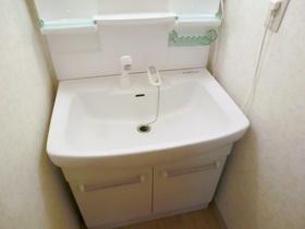 シャンプードレッサー付き独立洗面台です♪