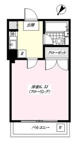 グレース桜3階Fの間取り画像