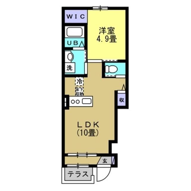 LDK10帖 洋室4.9帖