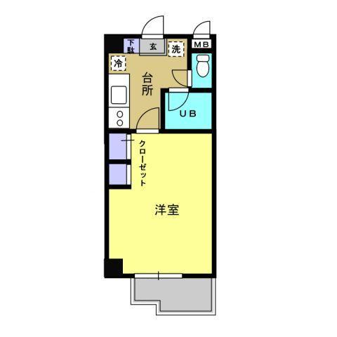 キッチン/洋室10帖