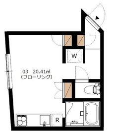 Orbit Komazawa1階Fの間取り画像