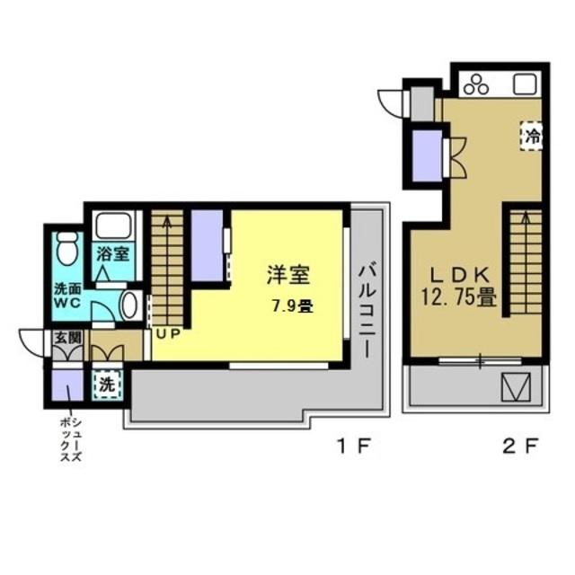LDK12.7帖・洋室7.9帖
