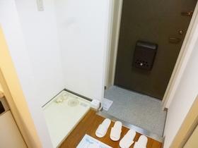 収納付きの玄関ですっきり使えます