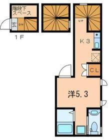 SOPHIA目黒洗足3階Fの間取り画像
