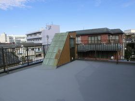 広い屋上です!!水場もあります!